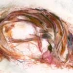 Neurofibrillary Tangle  2013 Mixed Media on Paper 425mm x 800mm